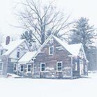 Rustic Barn in Maine by Elizabeth Thomas