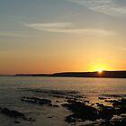 Fresh west sunset by Dafs
