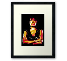 Fish Mooney Framed Print