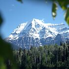 Mount Robson by Christopher B Smyth