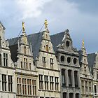 Antwerp Guildhouses by Gilberte