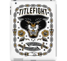 Title Fight - Panther iPad Case/Skin