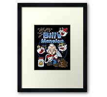 Bill's Mansion Framed Print