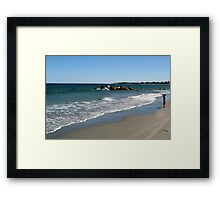 """Mommy Said Someday My Ship Would Come In, But I Don't See it..."" Framed Print"