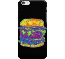 Neon Bacon Cheeseburger iPhone Case/Skin