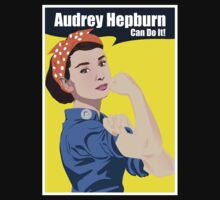 Audrey Hepburn can do it by icedtees