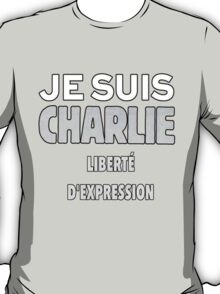 Je Suis Charlie - Stand up to Terrorism T-Shirt