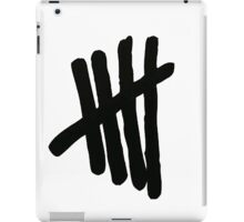 5SOS Logo (Black on White) iPad Case/Skin