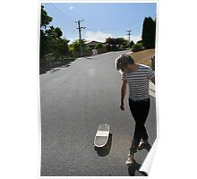 """""""Surfing Suburbia"""" Poster"""