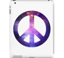 Peace Sign Galaxy iPad Case/Skin