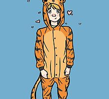 Little Tiger by - Kay -