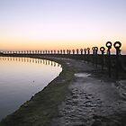 Sunrise reflections by Liz Percival