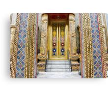 Temple entrance Canvas Print