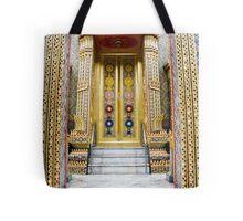 Temple entrance Tote Bag