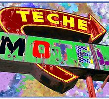 Teche Motel by Joerg Schlagheck