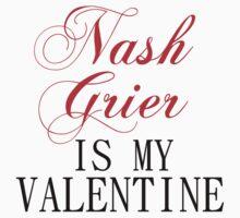 NASH GRIER IS MY VALENTINE Kids Clothes