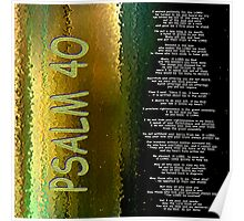Psalm 40 Poster