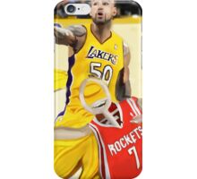 Corky's playing basketball iPhone Case/Skin