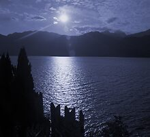 Lago di Garda, in blue by Lenka
