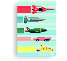 THUNDERBIRDS! Canvas Print