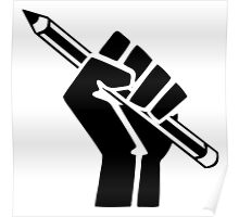 Writer Power Poster