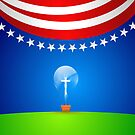 A great idea for the Red, White &amp; Blue. by webart