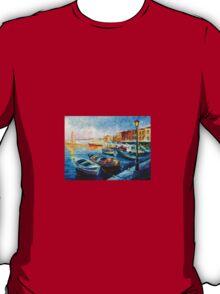 Fishing Boats — Buy Now Link - www.etsy.com/listing/217416744 T-Shirt