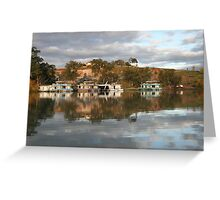 Reflections at Paringa, S.A. Greeting Card
