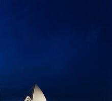 Lonely Sydney Opera House  by Martin K. Lee