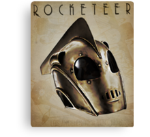 ROCKETEER! Canvas Print