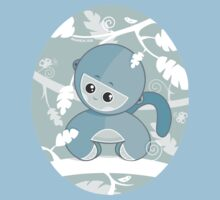 Little Monkey t-shirt by oksancia