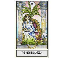 The High Priestess - Card Photographic Print