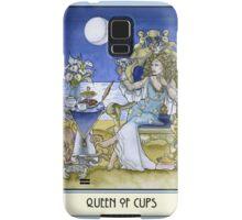 Queen of Cups, Card Samsung Galaxy Case/Skin