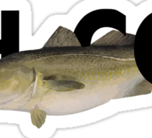 Oh Cod! Sticker