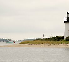 Hyannis Harbour Light by Chris Charlesworth
