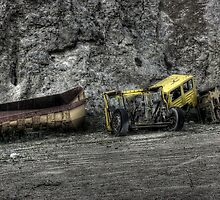Truck Graveyard by Richard Shepherd