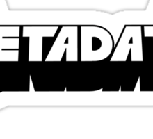 Metadata Sticker