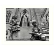 St Mary of the Cross Art Print