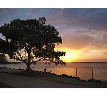 Sunset at Wellington Point Photographic Print