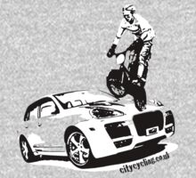BMX versus SUV by citycycling