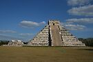 The Pyramid at Chichen Itza by Allen Lucas
