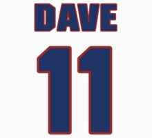 Basketball player Dave Gunther jersey 11 by imsport