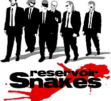 Reservoir Snakes by gamermanga