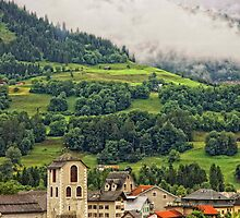 Switzerland, Ilanz by Galyna Schmid