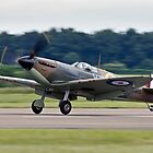 Spitfire Mk 2A by Colin Hollywood Photography