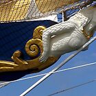 Royal Clipper figurehead  by Nancy Richard