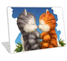 For LOVERS. For Beloved. Two kittens in love Laptop Skin