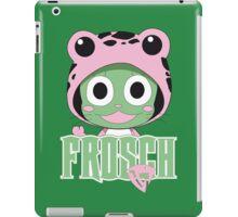 Frosch thinks so too! iPad Case/Skin