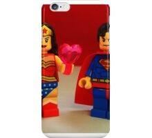 Wonder Woman Loves Superman iPhone Case/Skin