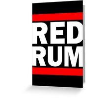 RED-RUM Greeting Card